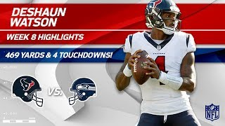 Deshaun Watson Shines w/ 469 Total Yards & 4 TDs   Texans vs. Seahawks   Wk 8 Player Highlights