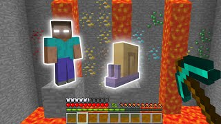 Minecraft: Herobrine OR Snail??? #shorts