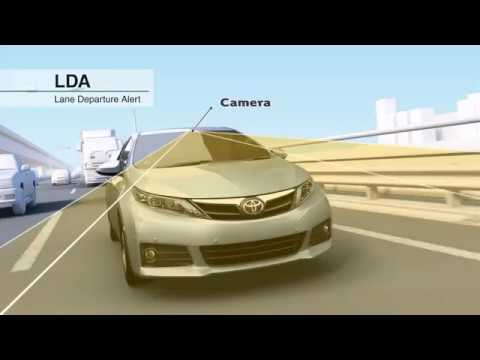 2018 Toyota Safety Sense: Lane Departure Alert