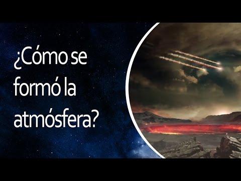 ¿Cómo se formó la atmósfera?
