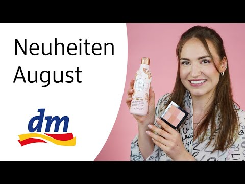 Diese Produkte sind NEU - dm August Neuheiten mit Lena