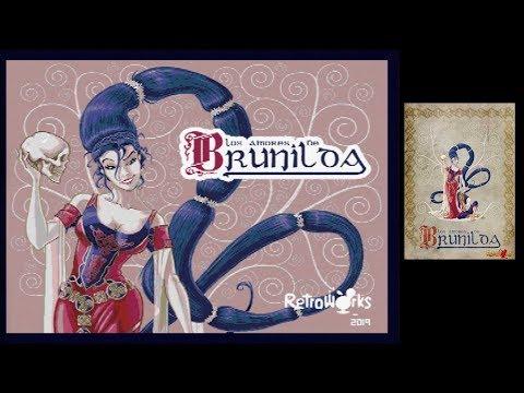 LOS AMORES DE BRUNILDA MSX 2