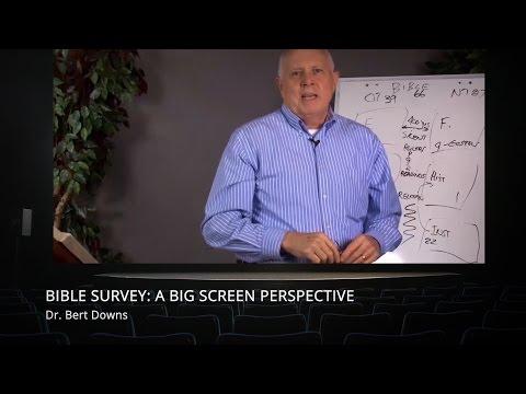 Bible Survey: A Big Screen Perspective
