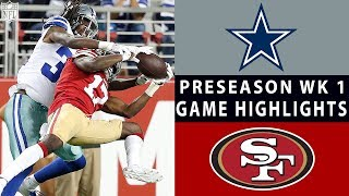 Cowboys vs. 49ers Highlights | NFL 2018 Preseason Week 1