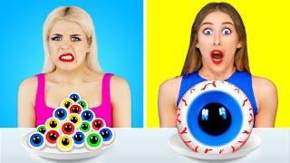 BIG FOOD vs SMALL FOOD CHALLENGE!