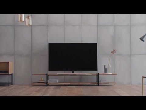 Se og lær hvordan du installerer Samsung QLED TV stand