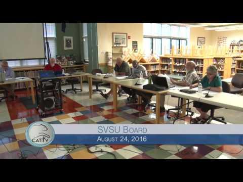 SVSU Board - 8/24/16