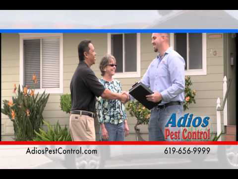 Adios Pest Control Termite Fumigation, the fume guys of San Diego - Fumigations, inspections