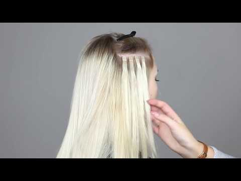 How to attach Quick & Easy mini tape extensions