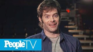 Bill Hader Reveals Which Co-Star He Had A Crush On, His First Acting Job & More   PeopleTV