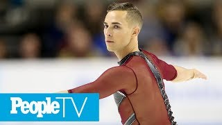 Meet Adam Rippon, The Spirited Olympic Figure Skater: 'I Love To Be Different' | PeopleTV