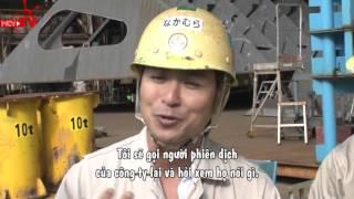Gặp gỡ các công nhân Việt tại xưởng đóng tàu Nhật Bản và bữa ăn ấm tình đồng hương