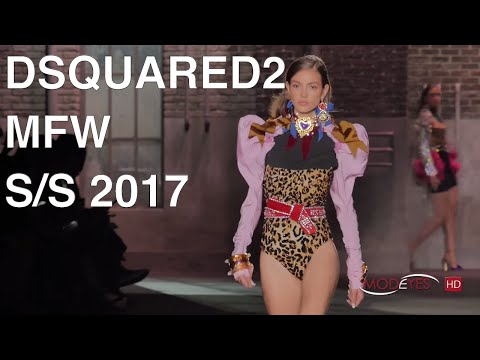 DSQUARED² | SPRING SUMMER 2017 WOMAN - FULL FASHION SHOW | Exclusive by Modeyes TV