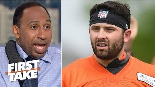 Baker Mayfield, Browns are going to fall this season – Stephen A.   First Take