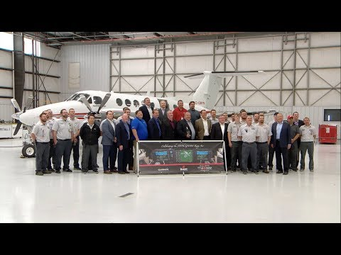 Garmin G1000 for King Air: Delivering our 500th Retrofit