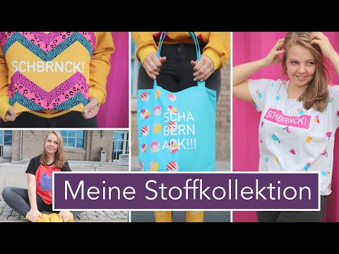 OMG!!! 😱🥳🧵 MEINE STOFFDESIGNS der Abstract Collection bei stoffe.de!!!!