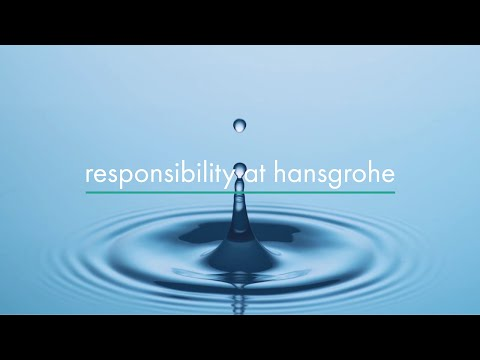 ​water is precious - deal with it responsibly to contribute to climate protection - @hansgrohe