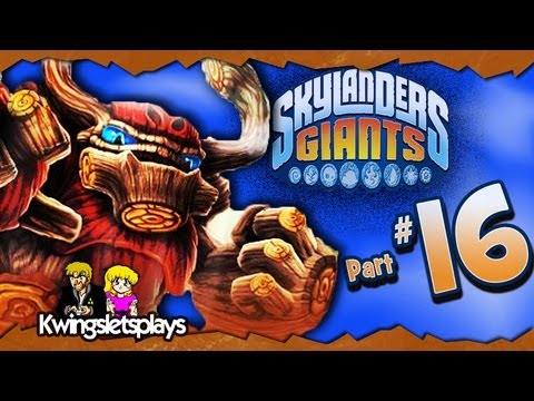 Skylanders Giants - Walkthrough Part 16 Molekin Mountain (Wii U) - Smashpipe Film