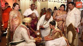 HD Kumaraswamy's son's wedding stirs row amid lockdown..