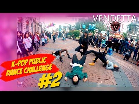 KPOP PUBLIC DANCE CHALLENGE #2 esto se va A DESCONTROLAR ( by VENDETTA)