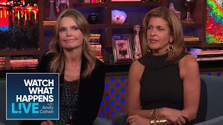 Hoda Kotb And Savannah Guthrie React To Julie Chen Leaving 'The Talk'| WWHL