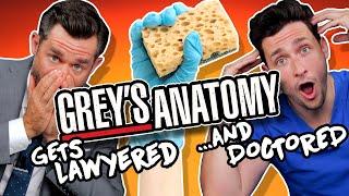 Lawyer & Doctor React to Grey's Anatomy Malpractice ft. Doctor Mike