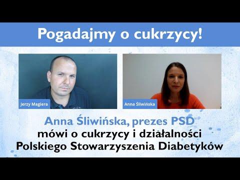 Anna Śliwińska, prezes PSD mówi o cukrzycy i działalności Polskiego Stowarzyszenia Diabetyków