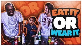 EAT IT OR WEAR IT CHALLENGE | THE PRINCE FAMILY