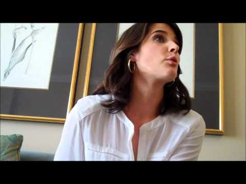 THE AVENGERS: Cobie Smulders Interview - Agent Maria Hill ...