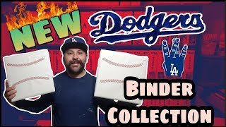 My NEW Dodgers Baseball Card Binders and Collection