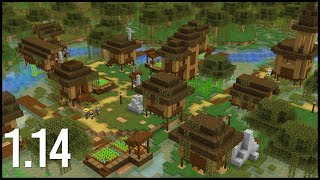 What Would A 1.14 Swamp Village Look Like In Minecraft?