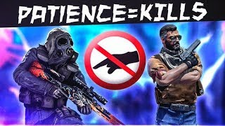 When CS:GO Pro Patience Gets Rewarded! (INSANE TRIGGER CONTROL)