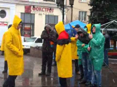 Попри сніг та вітер, Євромайдан у Чернівцях не здається