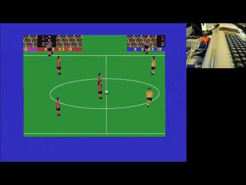 International Soccer C64 con 2 jugadores