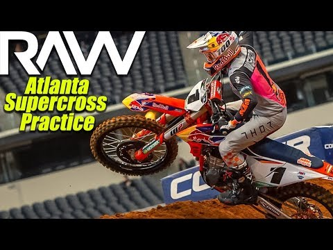Atlanta Supercross Practice RAW - Motocross Action Magazine