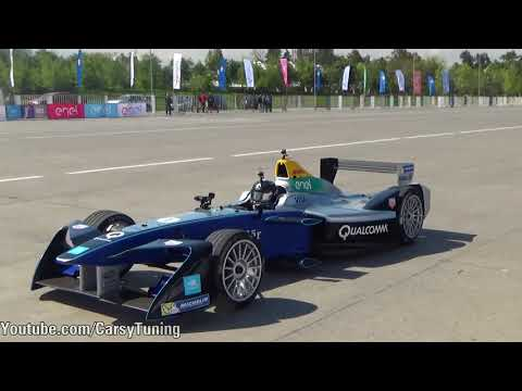 """Formula E Demostration in Santiago Chile - Ready for February 2018"""""""