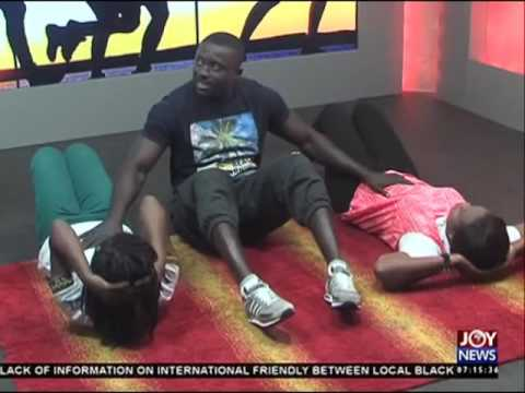 Workout Routine - AM Show on Joy News (27-5-16)