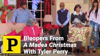 """Bloopers From """"A Madea Christmas"""" With Tyler Perry"""