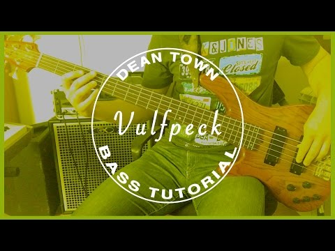 Vulfpeck - Dean Town /// BASS TUTORIAL [Play Along Tabs]