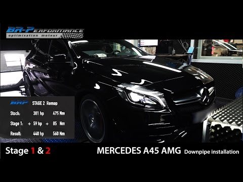 Mercedes A 45 AMG Stage 1 & 2 By BR-Performance