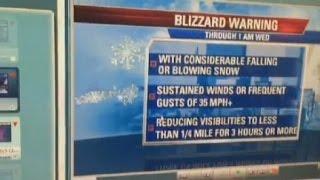 Kevin Lemanowicz explains what makes a blizzard