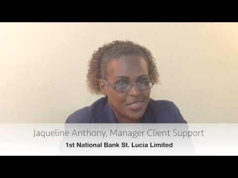 1st National Bank St. Lucia - Client support
