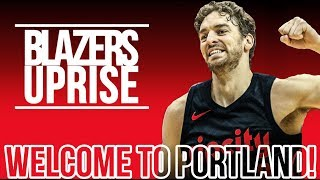Pau Gasol Signs With the Portland Trail Blazers!