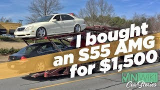 I Bought a Mercedes S55 AMG for $1,500