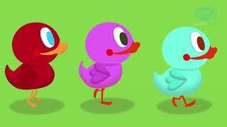 Six Little Ducks New Version   Children's music and songs for kids