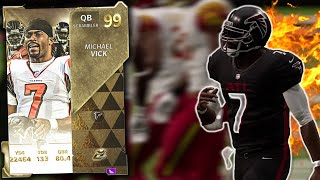 99 OVERALL MICHAEL VICK MAKES HIS DEBUT! [MADDEN 21 GAMEPLAY]