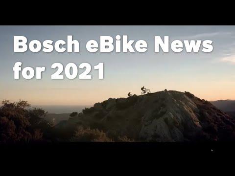 Bosch eBike Innovations for 2021 // Die Bosch eBike-Neuheiten 2021