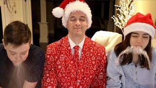TRY NOT TO LAUGH CHALLENGE!! Christmas Dad Jokes Part 2
