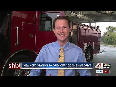 New KCFD station to open off Cookingham Drive