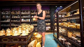 Elina Svitolina's Shopping Challenge At Dubai Duty Free